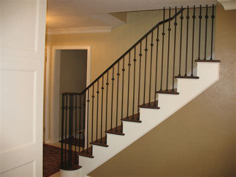 Banister Tops by Single Top Iron Railings The Iron Anvil Salt Lake City