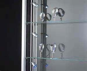 vitrinen beleuchtung produkte vitrinenbeleuchtung movido zylo molto luce