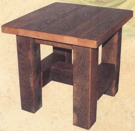 up to 33 grove end table in barnwood amish furniture