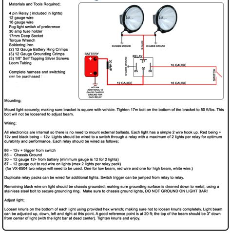 vision x light bar wiring diagram wiring diagram with