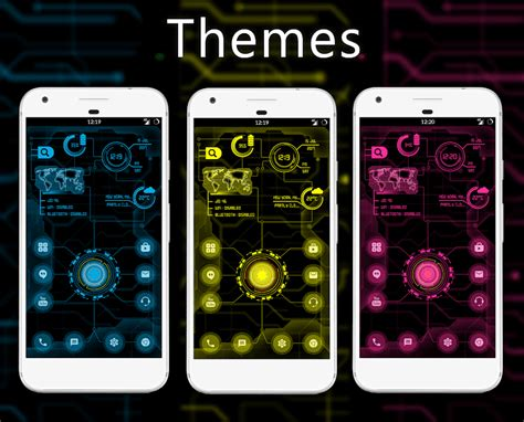 themes app 2018 circuit launcher 2018 next generation theme fast apps