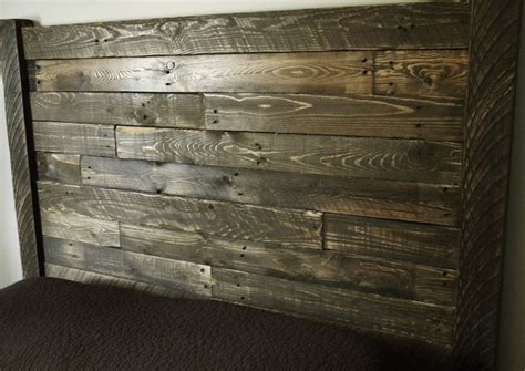 reclaimed wood headboard headboard home furnishings reclaimed wood by jnmrusticdesigns