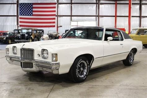 Pontiac Grand Prix 1972 by 1972 Pontiac Grand Prix 2344 White Coupe 400ci V8
