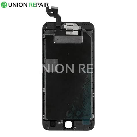 replacement for iphone 6s plus lcd screen assembly without home button black