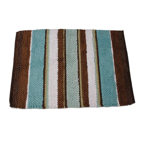 Cannon Bathroom Rugs Cannon Eastside Stripe Rug Home Bed Bath Bath Bath Towels Rugs Bath Rugs Mats