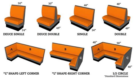 3 person dimensions booth seating dimensions 72 quot wide for 3