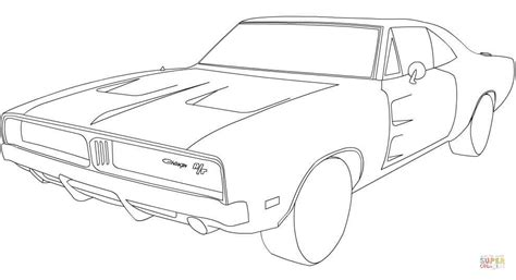 1969 Dodge Charger Coloring Pages 1969 dodge charger car coloring pages coloring home