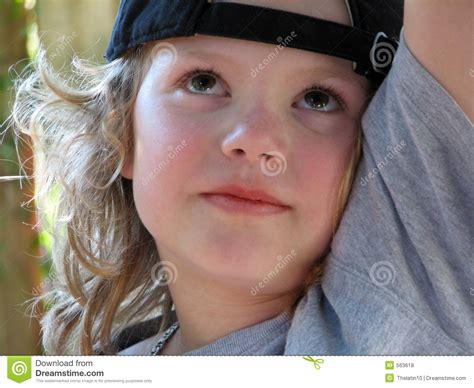 10 year old boy with long hair portrair of a boy royalty free stock photos image 563618