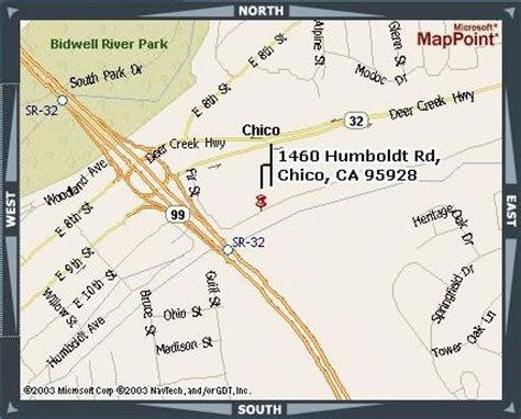 map of chico california departments city of chico