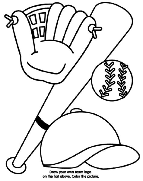 softball coloring page sports coloring pages