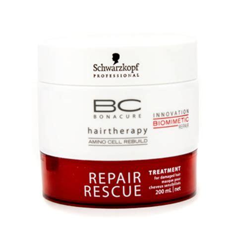 rescue bleached hair bc repair rescue treatment for damaged hair by