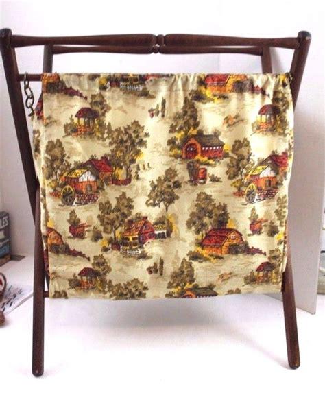 sewing pattern magazine holder 458 best vintage sewing baskets basket misc images on