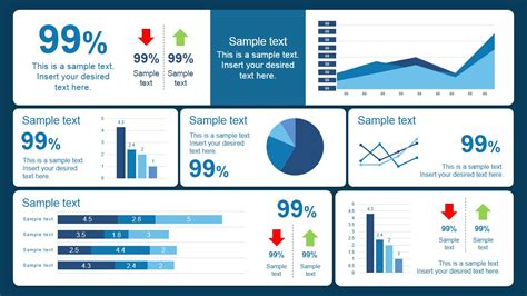 dashboard template powerpoint scorecard dashboard powerpoint template slidemodel
