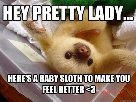 Make A Sloth Meme - feel better memes funny image memes at relatably com
