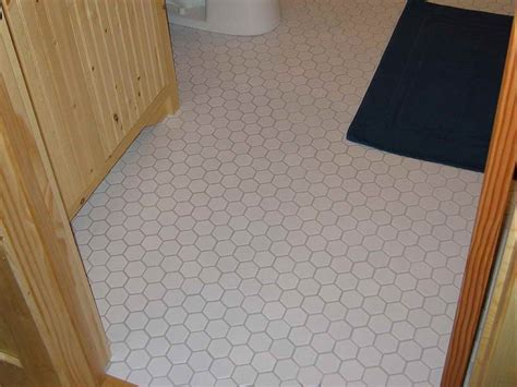Tile Flooring Ideas For Bathroom Bathroom White Color Hexagonal Designs Bathroom Tile Flooring Ideas Bathroom Tile Flooring