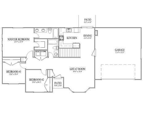 3 bedroom rambler floor plans pin by carissa baxter on my house someday pinterest