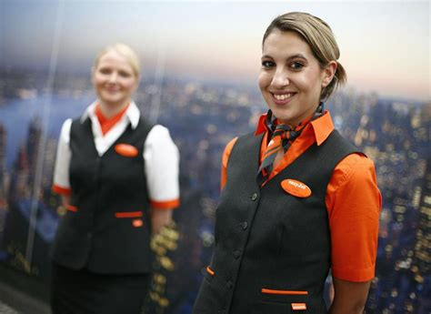 easy jet cabin crew new self designed at easyjet airline world