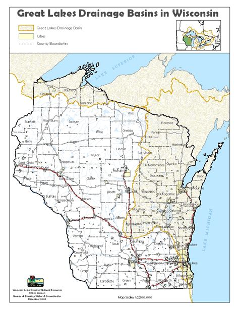 wisconsin lakes map water use permitting wisconsin dnr