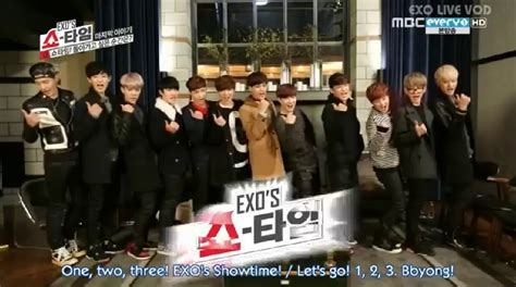 exo showtime ep 12 korean is my soul 2014 02 16