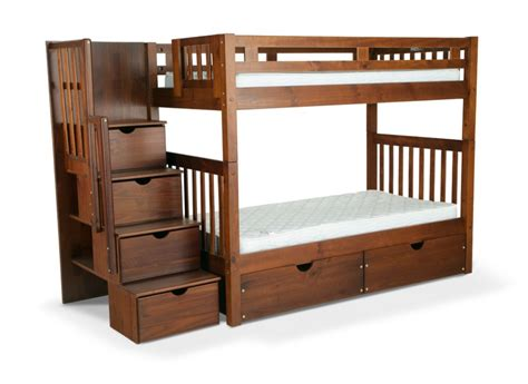 bunk bed with mattresses kids bunk beds wood shop