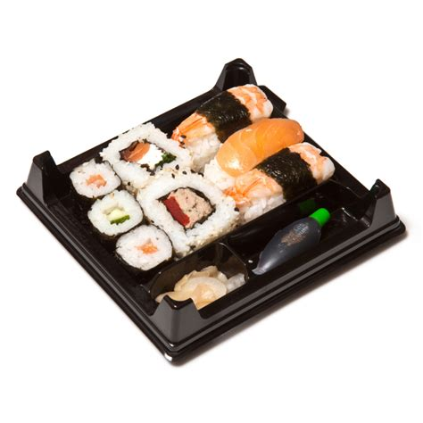 Tray Sushi Import Hp 02 quality departure lounge food sets up a successful trip extravitality