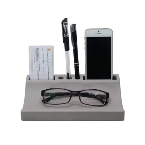 decorative office desk accessories multifuctional plain or bare concrete office desk