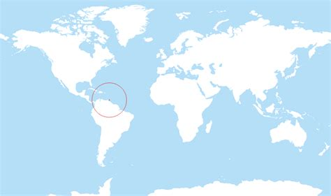 and tobago on the world map where is and tobago located on the world map