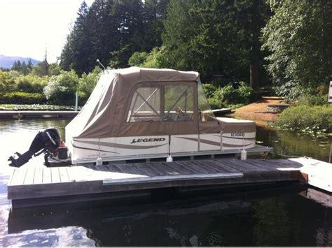 legend boats parry sound 2006 20 foot legend genesis pontoon boat malahat