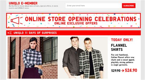Uniqlo Launches Its E Commerce Site by Uniqlo Launches South East Asian E Commerce Site