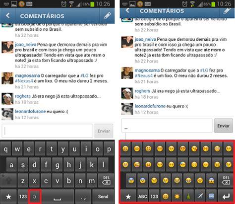 emoticons for instagram android como colocar emoticons nas mensagens do instagram dicas e tutoriais techtudo