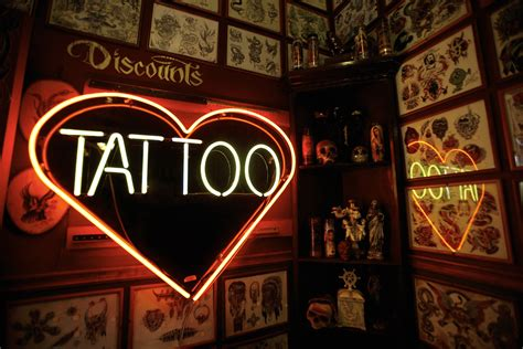 tattoo shops a couple of tips to help you find a good one
