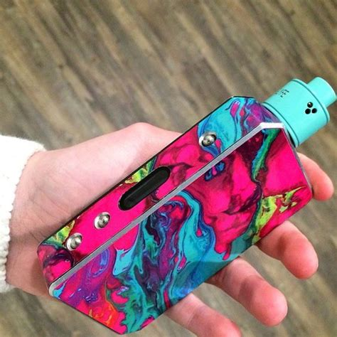 colored vape vape splash of color and slammed on