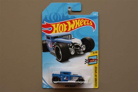 Hotwheels Bone Shaker 2018 Biru wheels 2018 legends of speed bone shaker blue