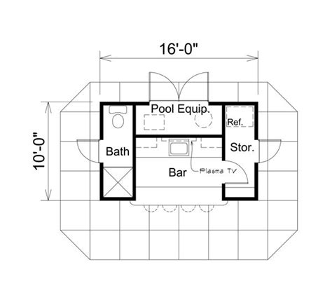 pool house floor plans with bathroom best 25 pool house shed ideas on shed patio