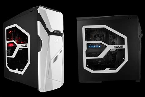 Asus Tower Desktop stormtrooper tower asus unveils a gaming desktop