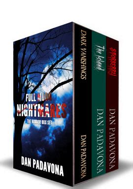 Box Set Laugh Dan Scary moon nightmares horror box set released dan padavona