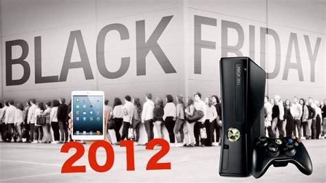 best 2012 black friday tech deals