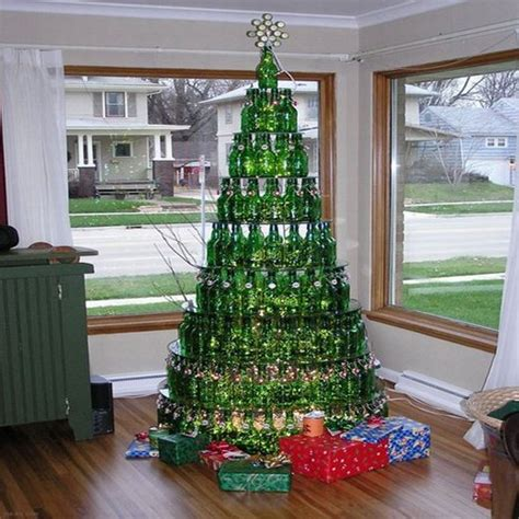 beer bottle christmas tree decorations worm