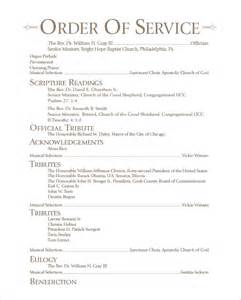 Memorial Program Templates by Memorial Program Exles Word Excel Pdf
