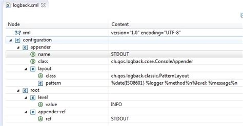 logback xml java logging frameworks and logback xml stack overflow