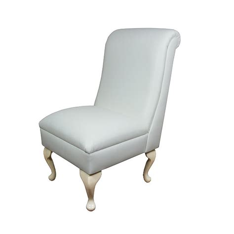 white leather bedroom chair bedroom chair dining seat in a medal white genuine leather