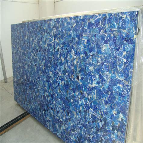 Lapis Granite Countertop by Lapis Lazuli Gemstone Slabs Blue Semi Precious
