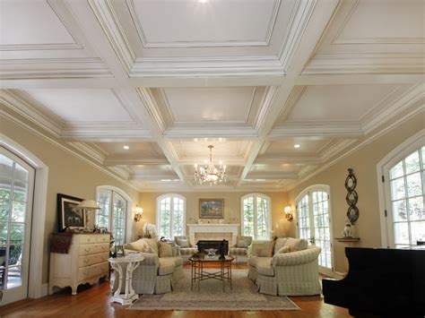 coffered ceiling paint ideas coffered ceilings wainscot solutions inc