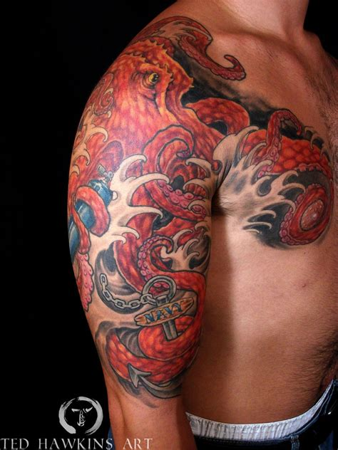 japanese octopus tattoo designs japanese octopus search tebori