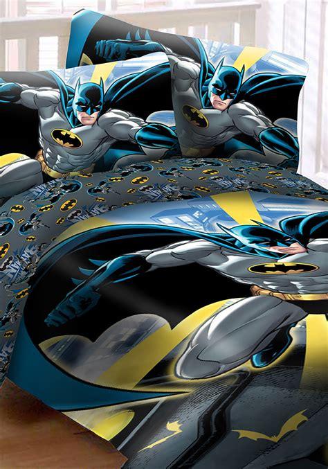 batman bed set size batman in city 4pc bed set