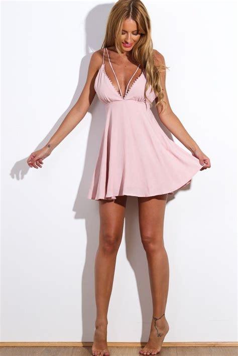 Mini Dress Baby by Brand New Dusty Pink Baby Doll Mini Dress Size 10 Hello Molly