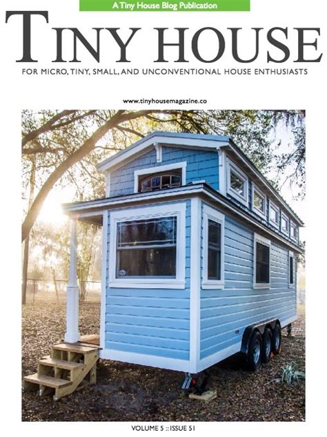 tiny house magazine tiny house magazine issue 51
