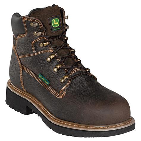 deere work boots for deere 174 6 quot ag utility waterproof work boots 627695
