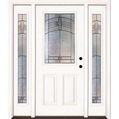 Door Lites Exterior Doors Single Door With Sidelites Front Doors Exterior Doors The Home Depot