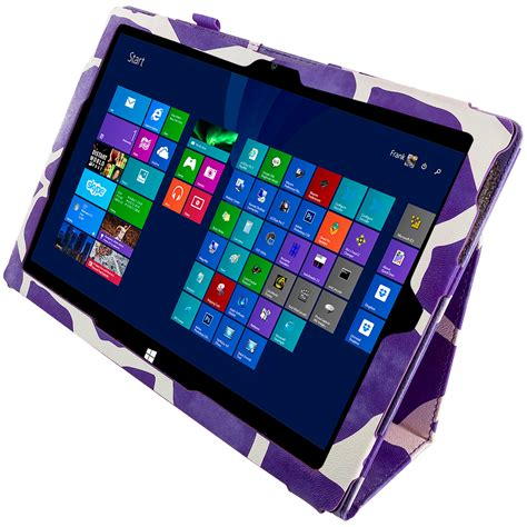 Flip Cover Tab Advan E1c Pro for microsoft surface pro 3 tablet purple giraffe flip folio cover pouch ebay